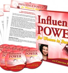 The INFLUENCE POWER For Women Audio System