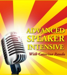 Advanced Speaker Intensive