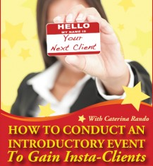 Gain Insta-Clients with Intro Events Virtual Training