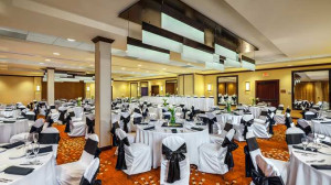 Hold a large event for up to 350 people in our beautifully renovated Sierra Ballroom. Perfect for weddings and celebration functions.