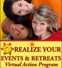 Realize Your Events and Retreats Virtual Action Program