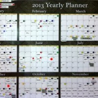 Get A Wall Calendar and Thrive
