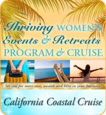 """Thrive with Women's Events & Retreats"" Program & Cruise 2018"