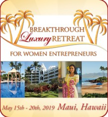 Hawaiian Breakthrough Luxury Retreat for Women Entrepreneurs