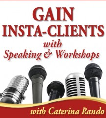 Gain Insta-Clients with Speaking & Workshops